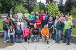Volunteers at Alton Baker
