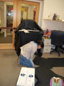 Constructing an altar