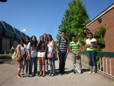 Pasos students on field trip to LCC