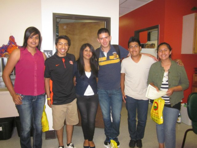 Six of our Pasos students
