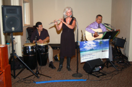 Jimmy G Revue provided the music