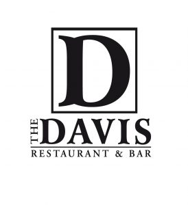The Davis logo and link