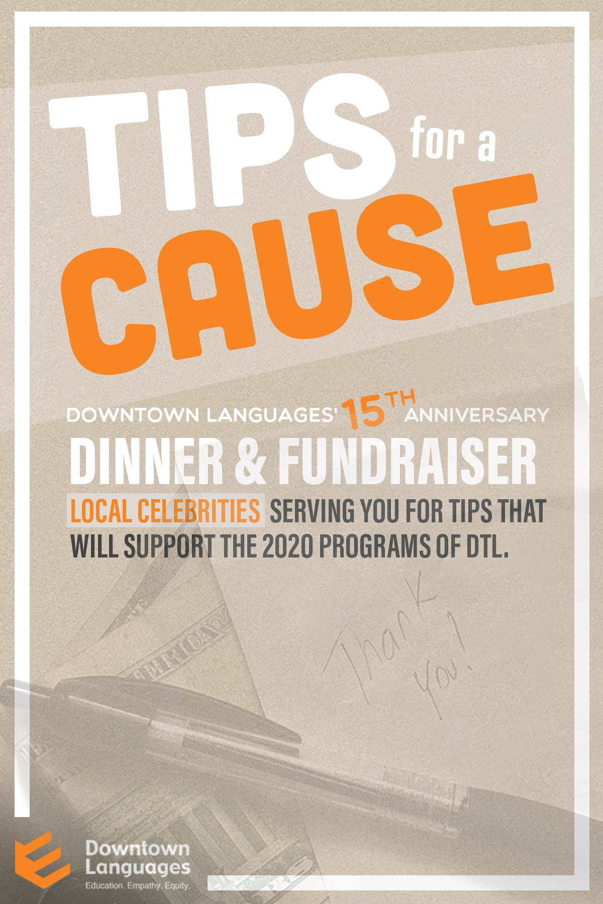 Tips For A Cause 2019